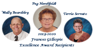 Frances Gillespie Award Recipients