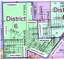 Boundary Map - RE-1 BOE - District 6