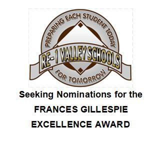 Frances Gillespie Excellence Award